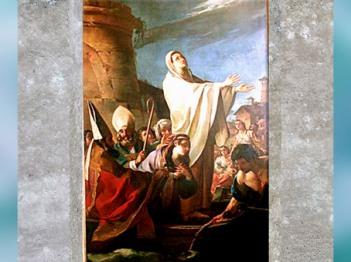 D'après L'embarquement de Sainte Marthe en Provence, de Joseph-Marie Vien, 1747-1751, église Sainte Marthe, Tarascon, France, XVIIIe siècle, Néoclassique. (Marsailly/Blogostelle)