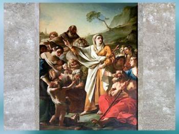D'après la Prédication de Sainte Marthe, de Joseph-Marie Vien, 1747-1751, église Sainte Marthe, Tarascon, France, XVIIIe siècle, Néoclassique. (Marsailly/Blogostelle)