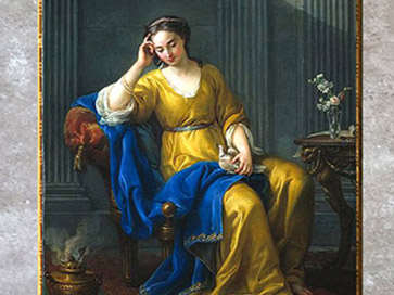 D'après Joseph-Marie Vien, XVIIIe siècle, sommaire, Néoclassique. (Marsailly/Blogostelle)