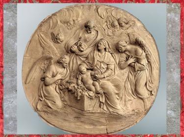 D'après La Nativité, de Laurent Delvaux, 1741-1745, bas-relief en terre cuite, cathédrale Saint-Bavon, Gand, XVIIIe siècle. (Marsailly/Blogostelle)