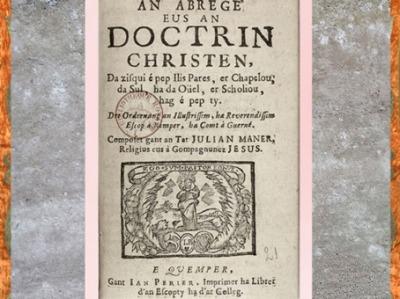 D'après un livre liturgique de dévotion, en langue bretonne, Quimper, France, début XVIIIe siècle. (Marsailly/Blogostelle)