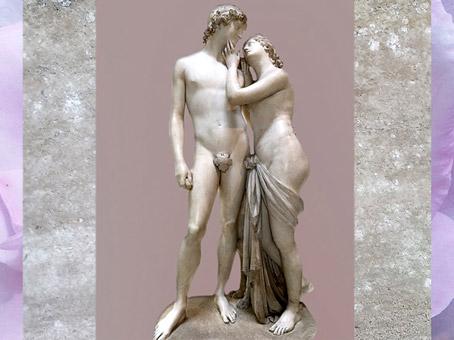 D'après Vénus et Adonis, d'Antonio Canova, 1789-1794, marbre, XVIIIe siècle, Néoclassique. (Marsailly/Blogostelle)