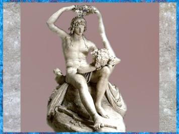 D'après Vénus couronnant Adonis, d'Antonio Canova, modèle en plâtre, XVIIIe siècle, Néoclassique. (Marsailly/Blogostelle)