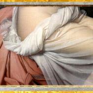 D'après Psyché et Éros, François Gérard, 1798, drapés, France, XVIIIe siècle, Néoclassique. (Marsailly/Blogostelle)