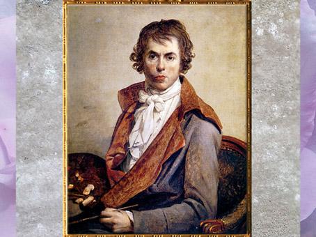 D'après un autoportrait, de Jacques-Louis David, 1794, huile sur toile, France, XVIIIe siècle, Néoclassique. (Marsailly/Blogostelle)