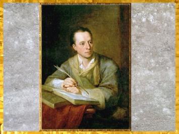 D'après Johann Joachim Winckelmann, portrait d'Angelika Kauffmann, 1764, huile sur toile, XVIIIe siècle, Néoclassique. (Marsailly/Blogostelle)