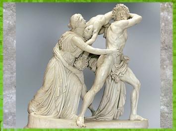 D'après La Folie d'Athamas, de John Flaxman, 1790 - 1794, hall de Ickworth House, Angleterre, XVIIIe siècle, Néoclassique. (Marsailly/Blogostelle)