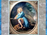 D'après Saint Pierre en prière, de Jean Restout, 1728, huile sur toile, église Saint-Jacques-du-Haut-Pas, Paris, France, XVIIIe siècle. (Marsailly/Blogostelle)