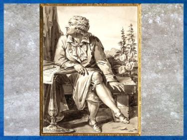 D'après un portrait du marquis de Condorcet, de Jean-Baptiste-François Bosio, dessin, lavis brun sur du graphite, fin XVIIIe siècle. (Marsailly/Blogostelle)