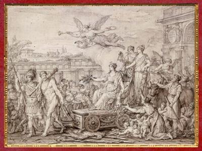D'après Le Triomphe de la Constitution de 1793, , France, XVIIIe siècle. (Marsailly/Blogostelle)