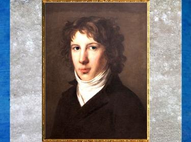 D'après un portrait de Louis de Saint-Just, de Pierre-Paul Prud'hon, huile sur toile, 1793, France, XVIIIe siècle. (Marsailly/Blogostelle)