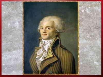 D'après un portrait de Maximilien Robespierre, anonyme, huile sur toile, France, XVIIIe siècle. (Marsailly/Blogostelle)