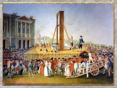 D'après L'exécution de Marie-Antoinette, le 16 octobre 1793, auteur anonyme, France, XVIIIe siècle. (Marsailly/Blogostelle)