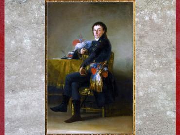D'après l'ambassadeur de France en Espagne, Ferdinand Guillemardet, de Francisco Goya, 1798, France, XVIIIe siècle. (Marsailly/Blogostelle)