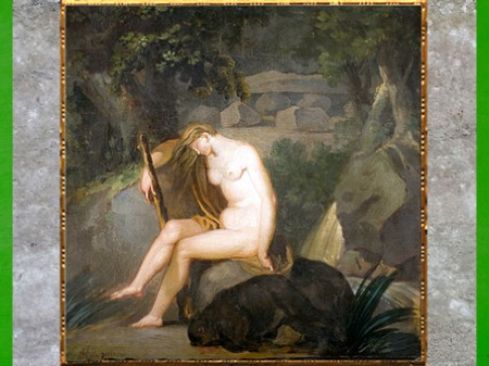D'après Nature Untamed (Nature sauvage), de Nicolaï Abraham Abildgaard,1784, huile sur toile, fin XVIIIe siècle. (Marsailly/Blogostelle)