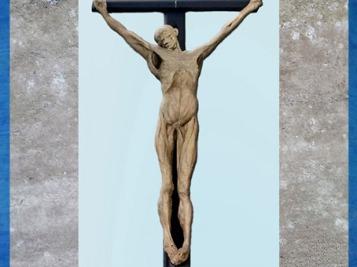 D'après Anatomical Crucifixion, de Thomas Banks, 1801, plâtre, Royal Academy of Art Londres, Angleterre, début XIXe siècle. (Marsailly/Blogostelle)