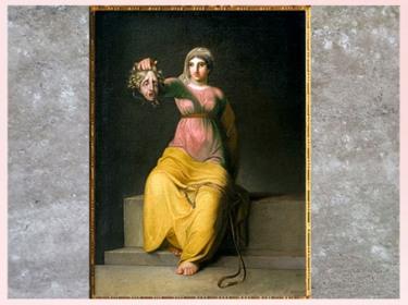 D'après La Théologie, allégorie, de Nicolaï Abraham Abildgaard, 1802, huile sur toile, début XIXe siècle. (Marsailly/Blogostelle)
