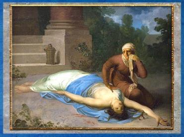 D'après Messaline mourante et sa mère, de Nicolaï Abraham Abildgaard, 1795-1798, huile sur toile, fin XVIIIe siècle. (Marsailly/Blogostelle)