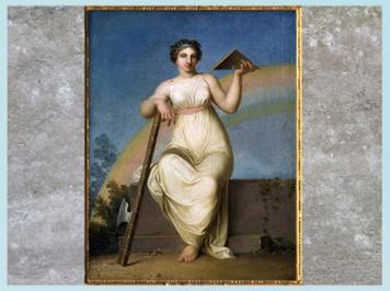 D'après La Jurisprudence, allégorie, de Nicolaï Abraham Abildgaard, 1802, huile sur toile, début XIXe siècle. (Marsailly/Blogostelle)