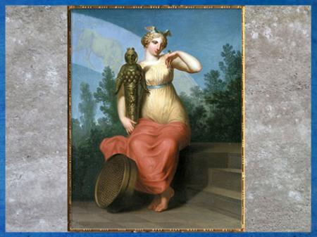 D'après La Philosophie, allégorie, de Nicolaï Abraham Abildgaard, 1802, huile sur toile, début XIXe siècle. (Marsailly/Blogostelle)