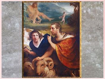 D'après Edmund Burke et James Barry, 1776, huile sur toile de James Barry, fin XVIIIe siècle. (Marsailly/Blogostelle)