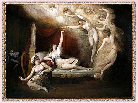 D'après Füssli, novateur, 18e siècle, sommaire. (Marsailly/Blogostelle)
