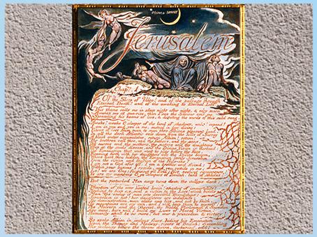 D'après Jerusalem The Emanation of The Giant Albion, The Divine Family…, de William Blake, 1804-1820, plume, encre, aquarelle, début XIXe. (Marsailly/Blogostelle)