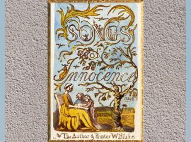 D'après Songs of Innocence (Les Chants d'Innocence), de William Blake, plume, encre, aquarelle, 1789, fin XVIIIe siècle. (Marsailly/Blogostelle)