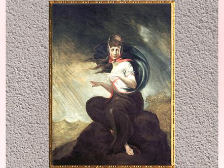 D'après The Crazy Kate, de Johann Heinrich Füssli,1806-1907, huile sur toile, début XIXe siècle. (Marsailly/Blogostelle)