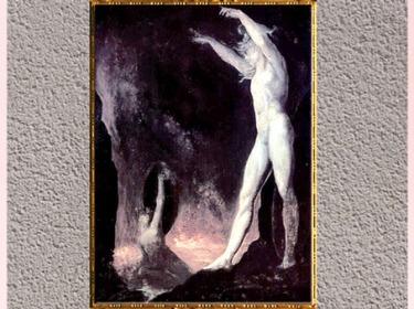 D'après Satan appelant ses légions, de Johann Heinrich Füssli, huile sur toile, 1802, début XIXe siècle. (Marsailly/Blogostelle)