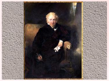 D'après Johann Heinrich Füssli, portrait de Sir Thomas Lawrence, 1830, huile sur toile, période romantique, XIXe siècle. (Marsailly/Blogostelle)