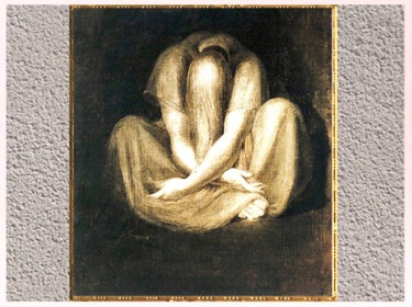 D'après Silence, de Johann Heinrich Füssli, 1801, huile sur toile, début XIXe siècle. (Marsailly/Blogostelle)