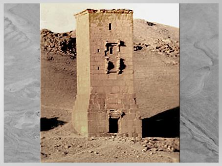 D'après une tour-tombeau, Ier-IIIe siècle, antique Palmyre, Syrie. (Marsailly/Blogostelle)