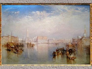 D'après Venice, The Ducal Palace, de William Turner, 1841, huile sur toile, XIXe siècle. (Marsailly/Blogostelle)
