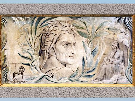 D'après Dante Alighieri, de William Blake, vers 1800-1803, plume, encre et aquarelle, début XIXe siècle. (Marsailly/Blogostelle)