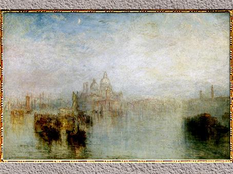 D'après Venice, Maria della Salute, de William Turner, 1844, huile sur toile, XIXe siècle. (Marsailly/Blogostelle)