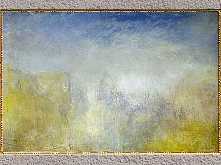 D'après Venice, Santa Maria della Salute, de William Turner, 1840-1845, huile sur toile, XIXe siècle. (Marsailly/Blogostelle)