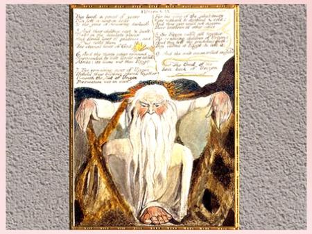 D'après Urizen, de William Blake, Europe a Prophecy, 1794. (Marsailly/Blogostelle)