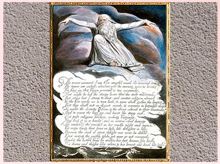 D'après America a Prophecy, Orc, William Blake,1793, gravure, encre, aquarelle, fin XVIIIe siècle (Marsailly/Blogostelle)