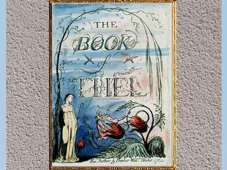 D'après The Book of Thel, précédé du livre de Tiriel, de William Blake, coloré à la main, vers 1789, fin XVIIIe siècle, tirage 1815-1818. (Marsailly/Blogostelle)