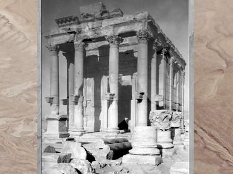 D'après le sanctuaire de Baalshamîn, cité antique de Palmyre, Ier-IIIe siècle, Syrie. (Marsailly/Blogostelle)