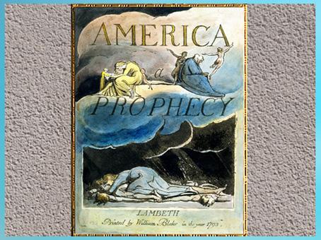 D'après America a Prophecy, de William Blake, 1793, gravure, encre, aquarelle, fin XVIIIe siècle. (Marsailly/Blogostelle)