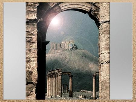 D'après les vestiges antiques de la cité de Palmyre, Ier-IIIe siècle, Syrie (Marsailly/Blogostelle)
