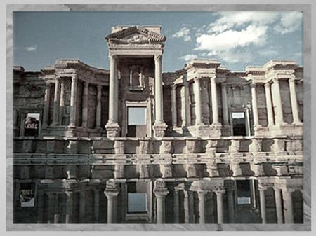 D'après les vestiges de la cité de Palmyre, théâtre, Ier-IIIe siècle, Syrie. (Marsailly/Blogostelle