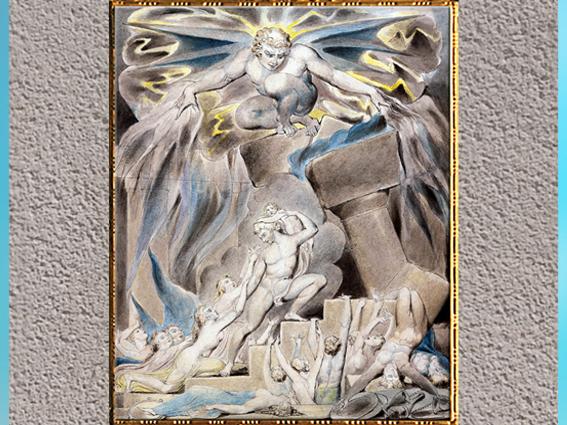D'après l'art de William Blake, modernité, sommaire. (Marsailly/Blogostelle)