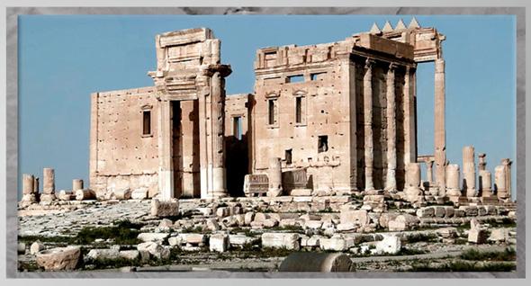 D'après le grand temple de Baal, Ier-IIIe siècle, antique Palmyre, Syrie. (Marsailly/Blogostelle)