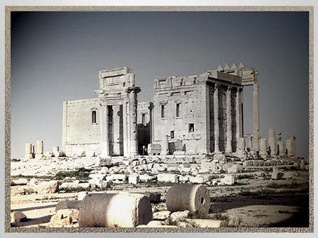 D'après le temple de Bêl-Baal, cité antique de Palmyre, Ier-IIIe siècle, Syrie. (Marsailly/Blogostelle)
