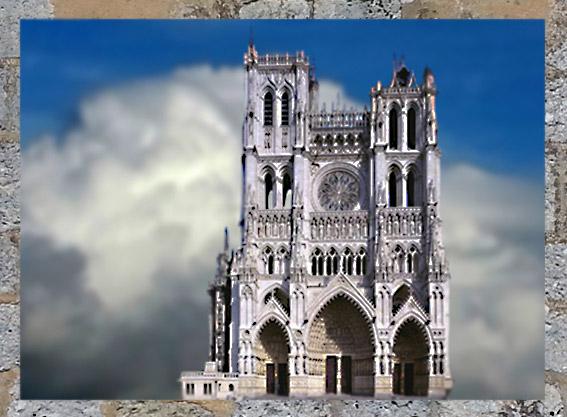 D'après une cathédrale, art Gothique, sommaire Moyen âge, histoire de l'art. (Marsailly/Blogostelle)