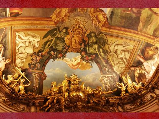 D'après la Galerie Dorée, Hôtel de Toulouse, sommaire. (Marsailly/Blogostelle)