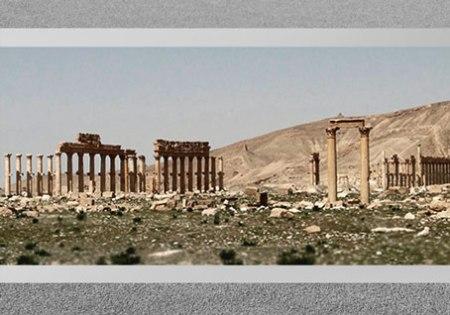 D'après les vestiges dits camp de Doclétien, Palmyre, Ier-IIIe siècle, Syrie. (Marsailly/Blogostelle)